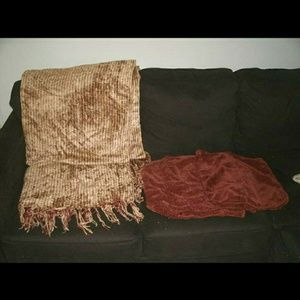 Restoration Hardware Throw & Pillow Covers